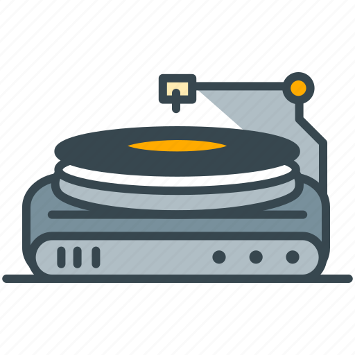dj, entertainment, hobby, music, player icon
