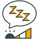 hobby, nap, rest, sleep, snooze icon