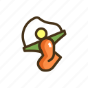 jumping, rope icon