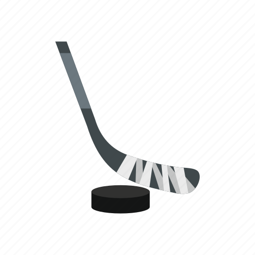 Activity, amusement, arena, hockey, puck, stick icon - Download on Iconfinder