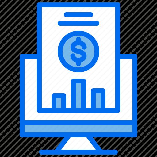 Analytics, business, compputer, money, statistics icon - Download on Iconfinder