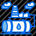 barrel, energy, industry, oil, petroleum icon