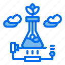 chemistry, energy, lab, plant, test, tube icon