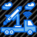 car, military, rocket, weapon, wireless