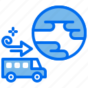 car, direction, earth, minibus, navigation, world