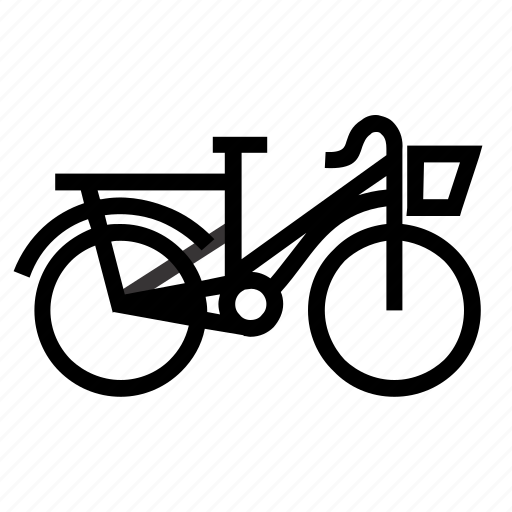 bike, holiday icon