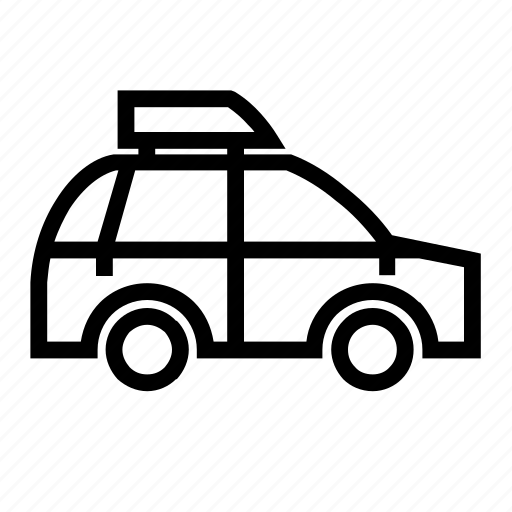 car, holiday icon
