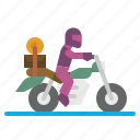 road, trip, bike, motorbike, motorcycle icon