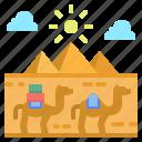 cultures, egypt, landmark, pyramid, travel icon