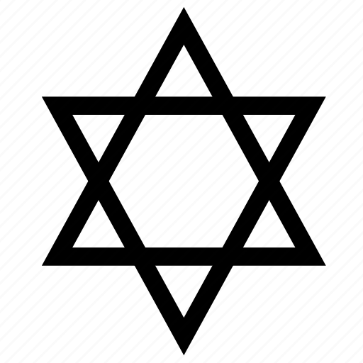 festival of lights, hanukkah, holiday, jewish, star, star of david, winter icon