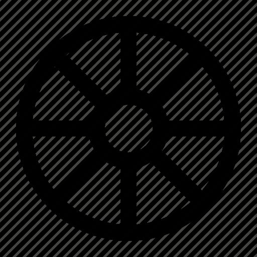 holiday, travel, wheel icon