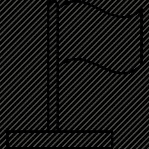 Flag, goal, sign, waving icon - Download on Iconfinder