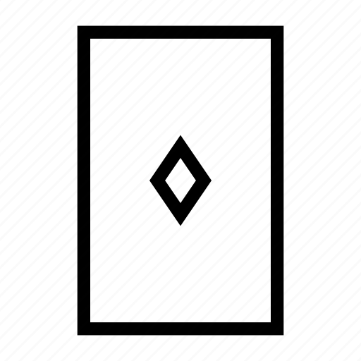 casino, diamond, game, play, playingcard icon