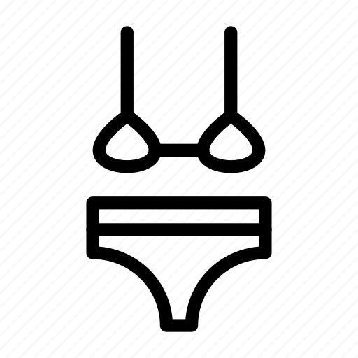 bikini, brazzer, cloth, lingerie, nightie icon