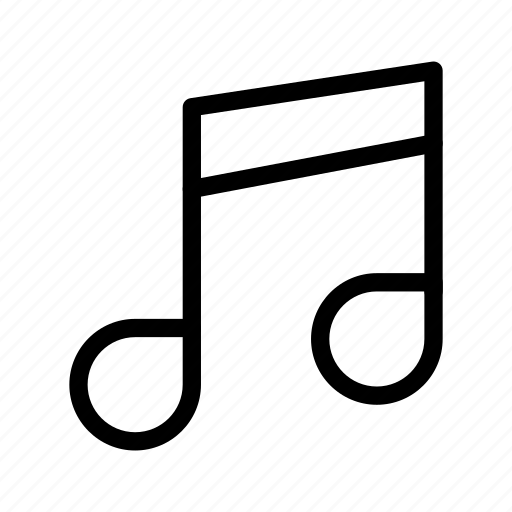 audio, media, melody, music, song icon