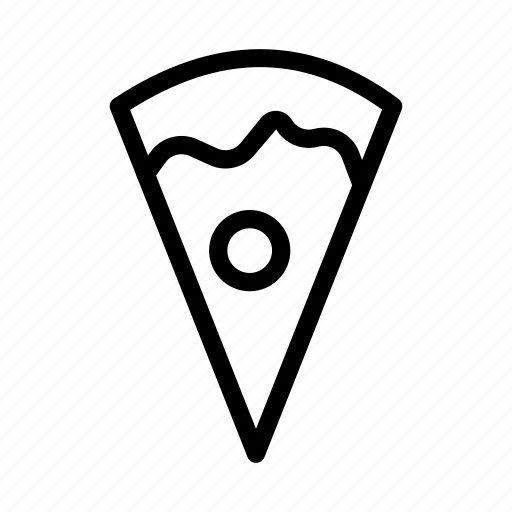 eat, fastfood, pizza, slice, snack icon