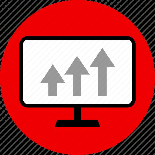 analytics, arros, web icon