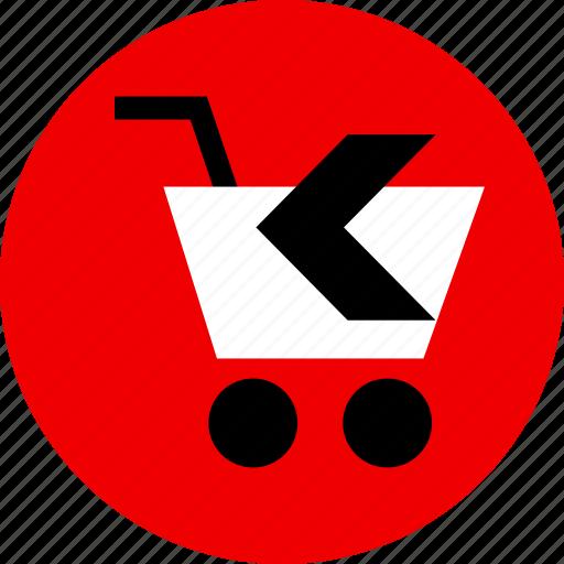 arrow, back, ecommerce icon