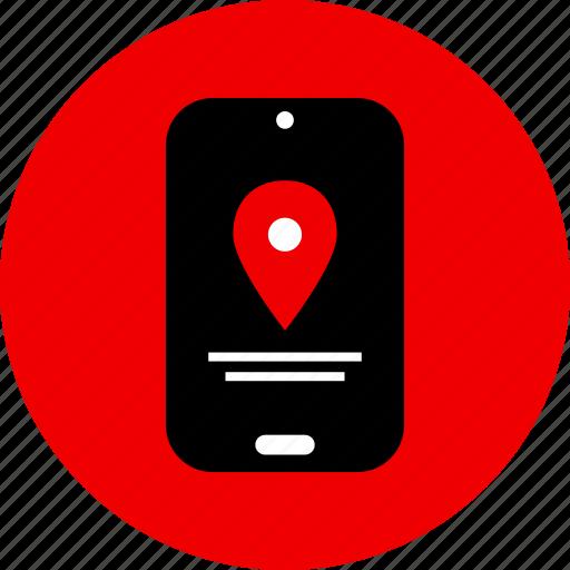 find, gps, locaiton, map icon