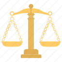 balance scale, law and justice, law day, scale of justice, sign of justice icon