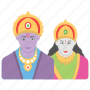 avatar, celebration, festival, leela, ram icon