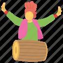baisakhi, harvest season, khalsa festival, punjabi folk dances, vaisakhi icon