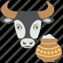 cultural holiday, delicacies, kanuma festival, mattu pongal, talugu festival icon