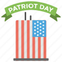 american national, anniversary, citizen celebration, partial holiday, patriot day, state event icon