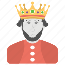 african american, kings crown, king's day, koningsdag, national holiday icon