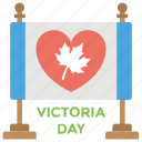 canadian flag, canadian public holiday, queen victoria birthday, victoria day, victorian day flex icon