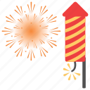 american national holiday, firecrackers, floral firework, guy fawkes day, guy fawkes night celebrations icon
