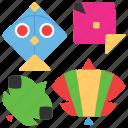 basant, hindu festival, kite flying, kites, maghi, makara sankranti icon