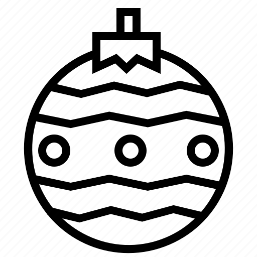 decoration, holiday, ornament, ornaments, xmas icon