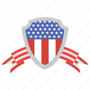 american badge, american flag, american freedom, american heritage, loyalty day, patriotic day icon