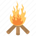 counting of omer, dancing flames, flaming fire, jewish holiday, lag baomer day icon