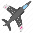 american national event, federal holiday, flying jet, national defence, transportation day icon