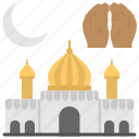 early moon, eid ul fitr, muslims celebrations, religious holiday, reward, shawwal icon