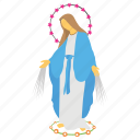 feast of immaculate concept, gathering, mother mary, orphan kids, party icon