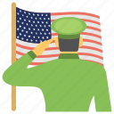 public holiday, remembrance day, saluting, united states, veterans day icon
