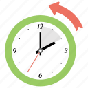 american holiday, daylight saving time, november sunday, time clock, wall clock icon