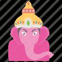 ganapati upanishad, ganesh chaturthi, god ganesha, hindu festival, parsada offering icon