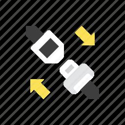 belt, safety icon