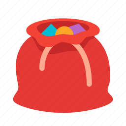 bag, celebration, christmas, gift, present, santas, xmas icon
