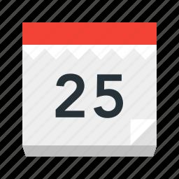 calendar, celebration, christmas, date, holiday, holidays, xmas icon