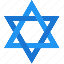christmas, david, hanukkah, holiday, jewish, star, xmas icon