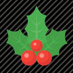 celebration, christmas, decoration, holiday, holidays, holly, xmas icon
