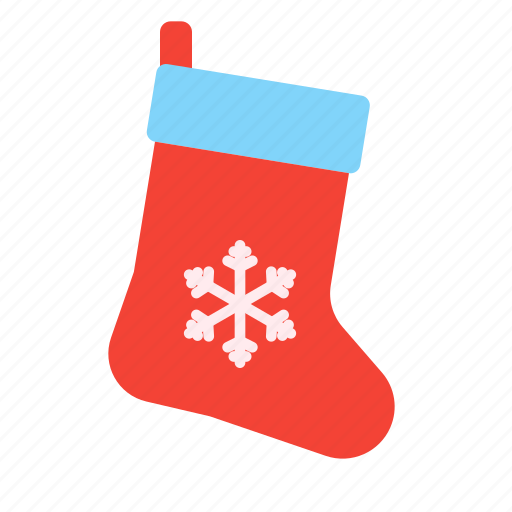 christmas, decoration, gift, holiday, present, socks, xmas icon