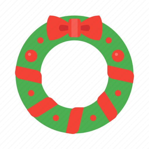 celebration, christmas, decoration, holiday, holidays, wreath, xmas icon