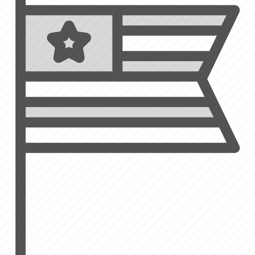 army, flag, patriot, us icon