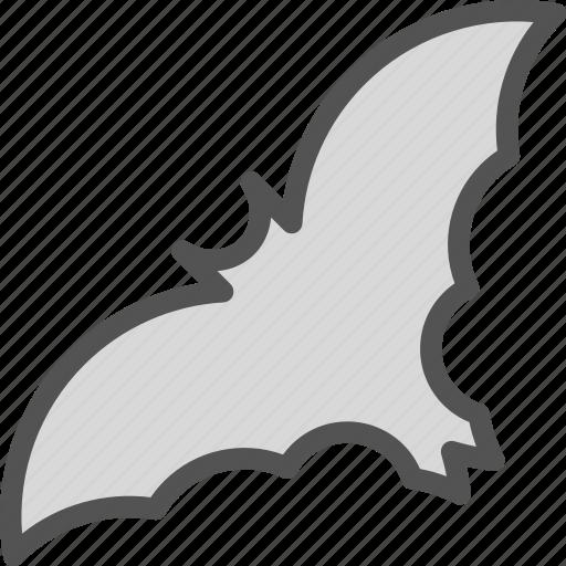 bat, night, scream, vampire icon